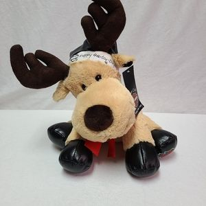 NWT Happy Harley days moose